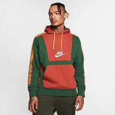Nike Clothes Mens, Nike Outfits, Nike Sportswear, Nike Men, Adidas Jacket, Sweatshirts, Men's Hoodies, Pullover, How To Wear