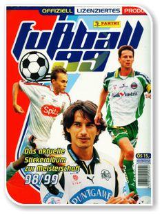 Fussball Osterreichische Bundesliga 1998-1999 Austria, Album, Baseball Cards, Sports, Sticker, Football Soccer, Hs Sports, Sport, Decals
