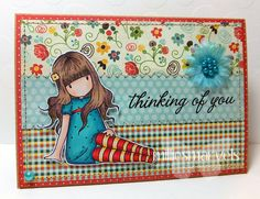 Milliesmarvels: Sugar Nellie DT - A Gorgeous Girl Sitting Fancy Fold Cards, Folded Cards, Pretty Cards, Cute Cards, Unity Stamps, Gorgeous Girl, 3d Cards, Craft Night, Color Card