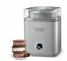 Frozen yogurt maker -  This frozen treat maker will make you up to two quarts of frozen yogurt at at time. Once the ingredients have been put into the machine, it takes about a half hour to make frozen yogurt.