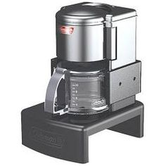Coleman Battery Coffee Maker Machines Camping Operated