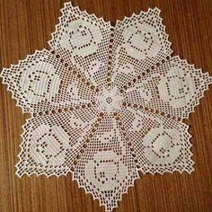 Crochet Angel Pattern, Crochet Tablecloth Pattern, Crochet Butterfly, Granny Square Crochet Pattern, Crochet Motif, Crochet Patterns, Filet Crochet, Crochet Dollies, Learn To Crochet