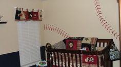 Baseball baby room! @Caitlin Burton Henning