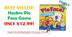 BEST SELLER! Hasbro Pie Face Game is ONLY $12.99! Make sure this game is on the list to buy now as it is a HOT item and in stock!  Click the link below to get all of the details ► http://www.thecouponingcouple.com/hasbro-pie-face-game/ #Coupons #Couponing #CouponCommunity  Visit us at http://www.thecouponingcouple.com for more great posts!