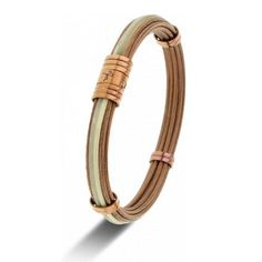 #Albanu #Monaco #Collection #Manaudou #Florentmanaudou #Bracelet Corne de Taureau, Cable PVD Bronze et Fermoir PVD Bronze - Horloger-paris.com Monaco, Bronze, Paris, Craft, Bracelets, Gold, Leather, Collection, Jewelry