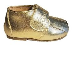 Leather Loafer in Gold (Toddler/Little Kid) Leather Fringe, Gold Leather, Leather Loafers, Leather Sandals, Brown Leather, Buy Shoes, Me Too Shoes, Velcro Straps, Flexibility