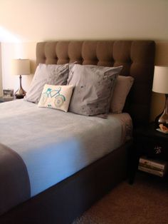 We have this headboard. I like the rest too