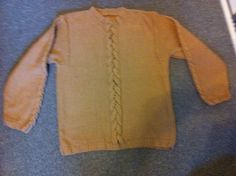 Sweater med snoning