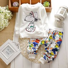 Snoopy-Batman Baby Boy 2 PCS Set Shirt Pant Set ~ ONLY $16.50 ~ Buy At: http://www.dashingbaby.com/collections/boys-kids-clothes/products/snoopy-batman-baby-boy-2-pcs-set-shirt-pant-set