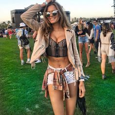 Josephine Skriver at Coachella 2016 | pinterest: @Nicole Ricca Bryson