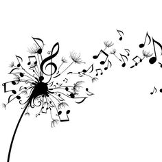 dandelion music notes
