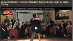 Salón Caning, nos acostumbra a ver buenos Shows de tango.  Que te parece?