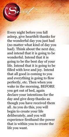 Intention and Appreciation