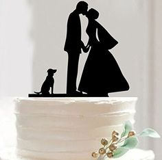 Mr & Mrs Bride and Groom Silhouette Wedding Cake Topper Pick COVERED WITH A PROTECTIVE LAYER WHICH SHOULD BE TORN OFF BEFORE USE(29 optional kinds of styles) FORSUN http://www.amazon.com/dp/B015BL2DRA/ref=cm_sw_r_pi_dp_1fxuwb1RAT3XN