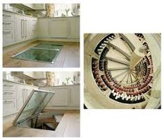 Image result for wine cellar in floor