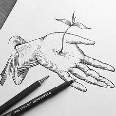 tattooed models, tattoos, watercolor brushes, art tips, Pencil Art Drawings, Cool Drawings, Art Sketches, Watercolor Brushes, Watercolor Art, Deco Time, Desenho Tattoo, Nature Drawing, Art Tips