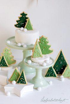Xmas Cookies von Liebesbotschaft