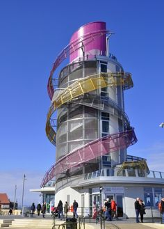 Like a giant Helter Skelter - The Redcar Beacon http://www.bubblews.com/news/357683-giant-helter-skelter-the-redcar-beacon