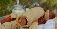 Troll a konyhámban: Fűszeres kolbász mustáros tésztában sütve - paleo