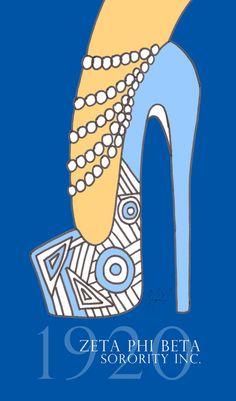 Finer Woman Art Print by Studio 85 LLC | Society6 Phi Beta Sigma, Alpha Kappa Alpha Sorority, Sorority And Fraternity, Sorority Sisters, Sorority Life, Pink And Green, Blue And White, Greek Life, Kitty