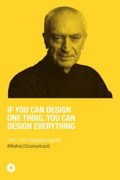 RIP Massimo Vignelli
