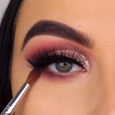 By Gardening can be quite a highly effective beneficial instrument, specially through these tough Smoke Eye Makeup, Hazel Eye Makeup, Bright Eye Makeup, Makeup Eye Looks, Pink Eye Makeup, Eye Makeup Steps, Beautiful Eye Makeup, Eyebrow Makeup, Black Girl Makeup