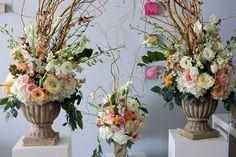 Nice 35+ Beautiful Floral Wedding Altars Decorating Ideas  https://oosile.com/35-beautiful-floral-wedding-altars-decorating-ideas-8443
