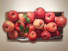 이미지 보기 : 네이버 카페 Watercolor Fruit, Fruits And Veggies, Apples, Illustration Art, Creativity, Food And Drink, Pastel, Paintings, Drawings
