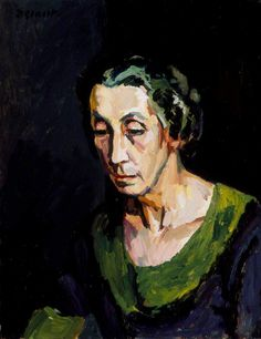 Mrs Hammersley, Duncan Grant (1885–1978), Southampton City Art Gallery