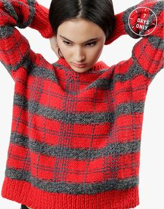 Teen Spirit Sweater Pattern by Wool and the Gang #blackfridaygang