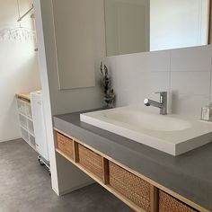 Washroom, House Rooms, Double Vanity, New Homes, Interior Design, Modern, Furniture, Home Decor, Instagram