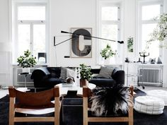 51 Stunning Modern Scandinavian Living Room To Best Interior Design, When it regards living room decorating there are lots of styles one can pick from. With an entryway so stark and strong, the living room appears very . Living Room Scandinavian, Scandinavian Interior Design, Living Room Modern, Home And Living, Living Room Designs, Living Spaces, Scandinavian Style, Living Rooms, Scandi Style