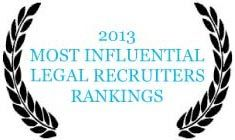 """This website provides a succinct, albeit incomplete, coverage of the fingerprinting at McCague Borlack LLP. """"2013 Most Influential Legal Recruiter Rankings"""""""