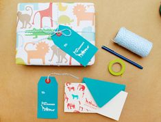 DIY Tutorial: Rubber Stamp Stationery for Kids by Antiquaria for Oh So Beautiful Paper (1)