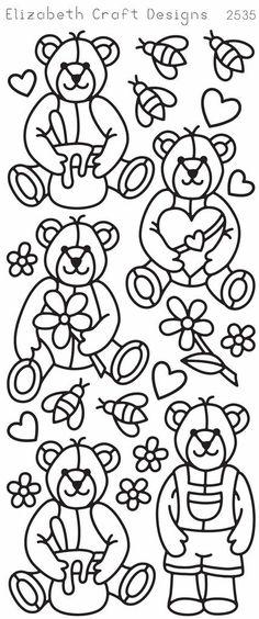Elizabeth Craft Designs PeelOff Sticker 2535B Cute by PNWCrafts, $1.99