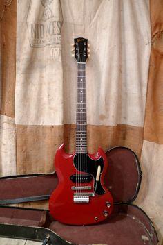 Gibson SG Junior Jr. 1965 Ember Red | Reverb