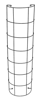 Set Of 2 Downspout Garden Trellises For 6 95 What A Cool