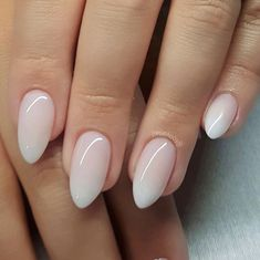 Pin by tracy on nails ongles vernis, ongles amande, ongles s French Nails, Cute Nails, Pretty Nails, Hair And Nails, My Nails, S And S Nails, Almond Acrylic Nails, White Almond Nails, Almond Nail Art