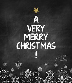 A very merry Christmas to all of you!