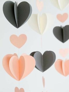 Trendy Sewing Ideas To Make Baby Shower Ideas Diy And Crafts, Crafts For Kids, Paper Crafts, Valentine Decorations, Origami Paper, Diy Party, Diy Room Decor, Paper Flowers, Diy Gifts