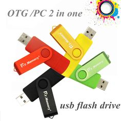 Dr.memory OTG USB flash drive 4GB 8GB 16GB 32GB 64GB Smart Phone Tablet PC Pendrives OTG Real Capacity Usb stick usb2.0