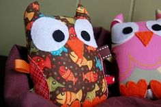 Cute little Owl Taggies by phyllis
