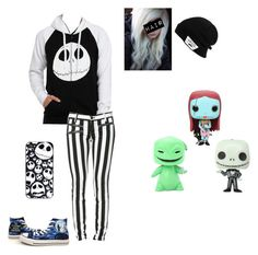 """Nightmare Before Christmas"" by emolover2002 on Polyvore featuring Converse, Vans and Disney"