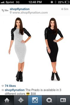 Fitted dress with booties