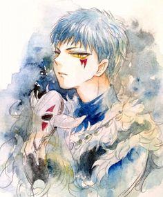Resultado de imagem para akatsuki no yona dragao azul wallpaper