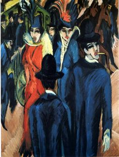 """Ernst Ludwig Kirchner was a German expressionist painter and printmaker and one of the founders of the artists group Die Brücke or """"The Bridge"""", a key group leading to the foundation of Expressionism in 20th-century art."""