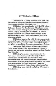 1996-06-17-CoC-Honor Guard Company-Poch-Book 01-05 | by Old Guard Museum