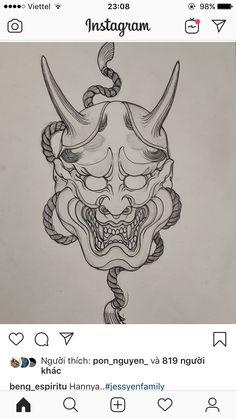 Japanese Tattoo Designs, Japanese Tattoo Art, Hanya Tattoo, Japan Tattoo, Irezumi, Drawing Reference, Old School, Dragons, Oriental Tattoo