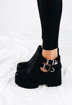 chunky booties