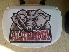Neat Idea.    Creative Design by Allyson: Sports Themed Coolers